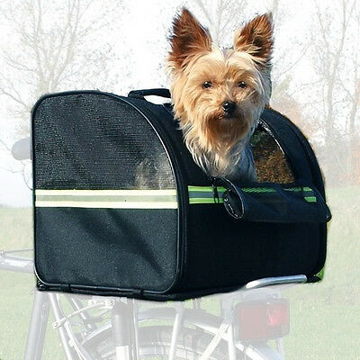 Dog/Cat/Rabbit Bicycle/Cycle Rear Pannier Rack Bag Carrier Bike/Holiday/Travel