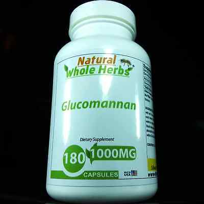 Glucomannan Konjac Supports healthy cholesterol metabolism, Natural Whole Herbs