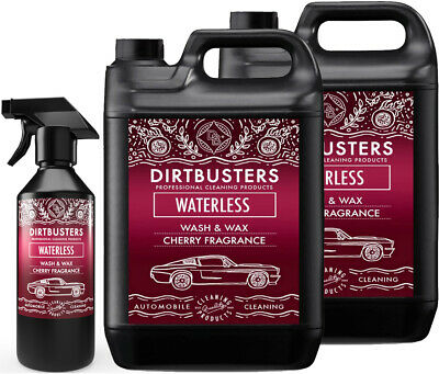 Dirtbusters Premium Cherry Waterless Car Wash and Wax Cleaner 10.5 Litre