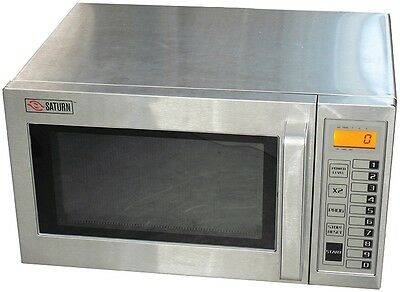 Saturn (Smc-1000) Heavy Duty Commercial Microwave Oven, 1000 Watts