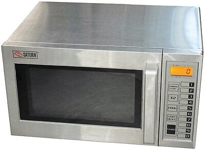Saturn (Smc-1000) Medium Duty Commercial Microwave Oven, 1000 Watts