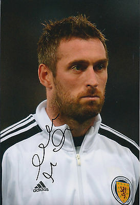Allan McGREGOR Signed Autograph 12x8 Photo AFTAL COA Scotland Goalkeeper Hull