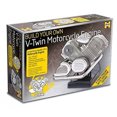 Haynes Motorcycle V-Twin Engine Kit - Build Your Own Model - Ideal Gift