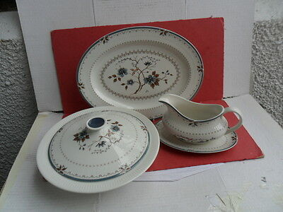 Royal Doulton, Old Colony -4  piece Serving Set  with 2 x  tureens !