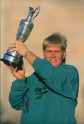 John DALY SIGNED Autograph 12x8 Photo AFTAL COA 1991 Open Golf Winner St Andrews