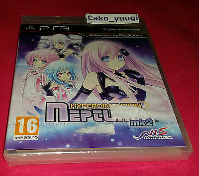 Hyperdimension Neptunia Mk2 Sony Ps3 Neuf Sous Blister Version Francaise