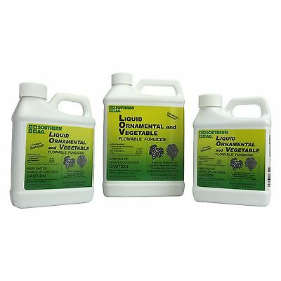 Daconil Liquid Ornamental and Vegetable Fungicide -Great for Gardens!!!!