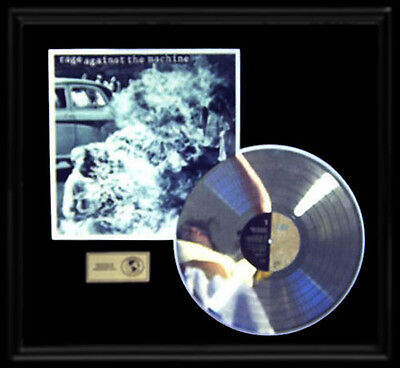 Rage Against The Machine Debut Self Titled First Gold Record Platinum  Disc Lp