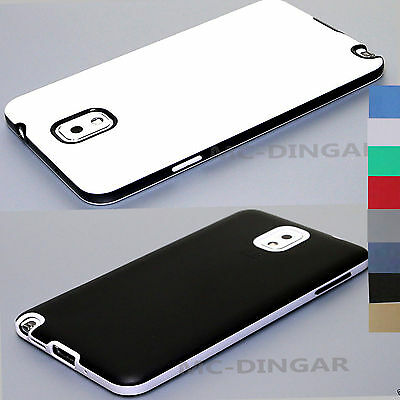 Ultra-Thin Soft Rubber Matte Bumper Case Cover For Samsung Galaxy Note 3 N9500