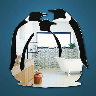 Penguins Three in One Shatterproof safety Mirror  size Medium 30cm to 60cm