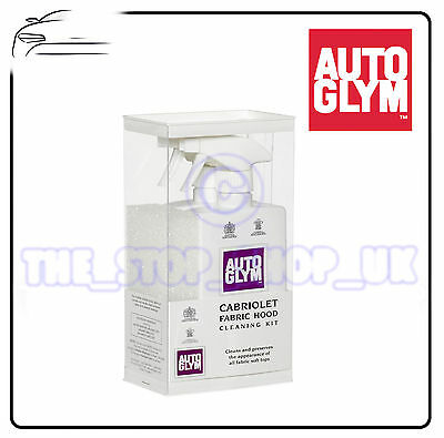 Autoglym Soft Top Convertable Fabric Hood Cleaning Kit