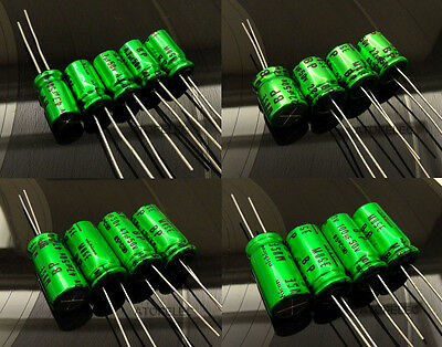 2-10pcs NEW Nichicon MUSE BP ES (Bi)Non-Polar Bipolar Hi-Fi Capacitors 4.7-100uF