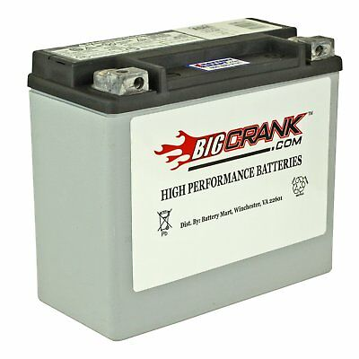 Big Crank ETX20L Battery - NEW - Made in the USA [ETX-20L]