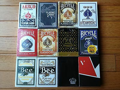Theory 11 Ellusionist Dan and Dave Variety Brick 12 Deck Playing Card Set #1