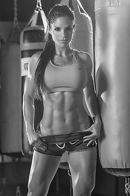 0142 Michelle Lewin Sexy Model Bodybuilder Fitness POSTER A4 A3 BUY 2 GET 1 FREE