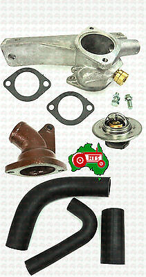 Thermostat Housing Complete Kit + Hoses Massey Ferguson Tractor TE20 TEA20 TED20