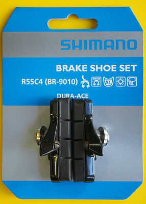 Shimano R55C4 BR-9010 Cartridge Brake Shoes Pads Set Dura Ace Ultegra 105, Pair