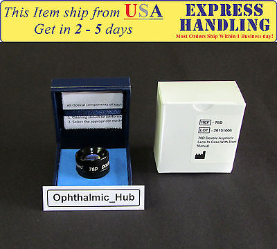 78D Diagnostic Surgical Lens for Indirect Ophthalmoscope Ship from USA