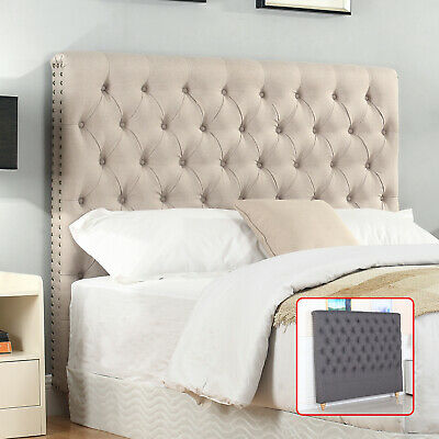 Bedhead Bed Head Board Frame Headboard Double Queen King Upholstered Fabric Sean