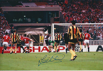 Lee SHARPE SIGNED Autograph Manchester United 12x8 Photo AFTAL COA MUFC