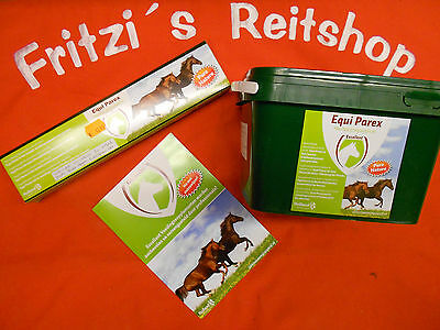 Herbal vermifuge for horses Equi Parex natural Deworming therapy / Herbs / food