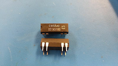 (5 PCS) CELDUC D31A5100 Reed Relays SPST-NO 0.5A 12VDC 1KOhm Thru-Hole