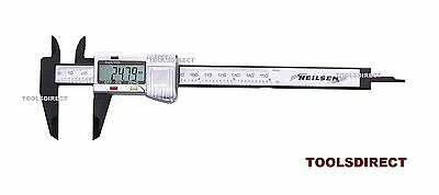 "Digital Calipers Lcd Measuring Guage Vernier Caliper 6"" 150Mm Measure 22B"