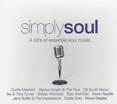 [Brand New] 4Cd: Simply Soul