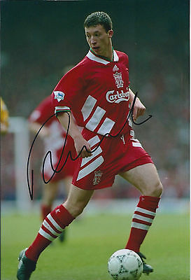 Robbie FOWLER Signed Autograph Young Early Photo AFTAL COA Liverpool Anfield