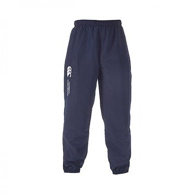 029865 SPORTS DEAL Canterbury CCC Cuffed Junior Stadium Track Pants - Navy