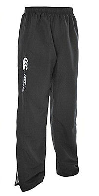 032879 SPORTS DEAL Canterbury CCC Junior Open Hem Stadium Track Pants - Black