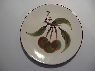 """Vintage Stangl Pottery ORCHARD SONG  Bread Butter Plate 6 1/8 """" Hand Painted"""