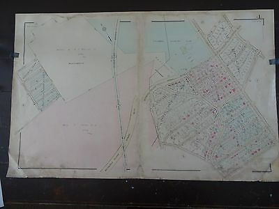 1931 Map of MD around Columbia Country Club - Rare, large detailed map