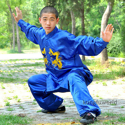 Traditional Tai chi Shaolin Kung fu Competition Uniform Martial arts Suit