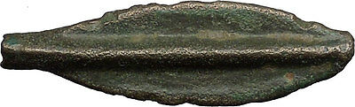 Celtic 700BC Arrowhead Proto-Money  Pre-Coin Token Istros Black Sea Area i44437