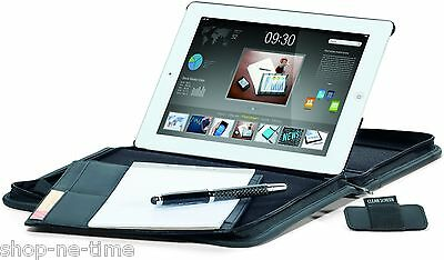 Travis & Wells iPad/Tablet Stand E-Padfolio Writing Pad w/ Gift Box - New