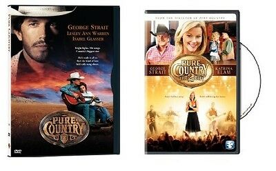 Pure Country/Pure Country 2: The Gift (DVD, 2011, 2-Disc Set) - NEW!!