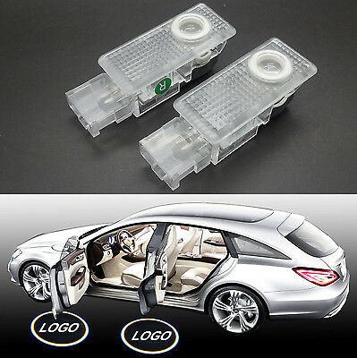 2x LED Door Courtesy Laser Shadow Projector Light for Porsche Cayenne 2007-2010
