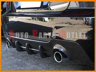 07-13 BMW E92/E93 328i 335i Coupe/Convertible Rear Bumper Diffuser- Carbon Fiber