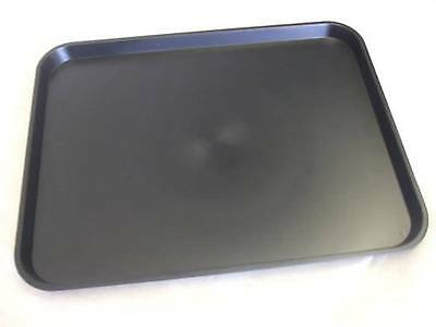 Kabi Plastic Large Black Catering Trays KB4 x 30