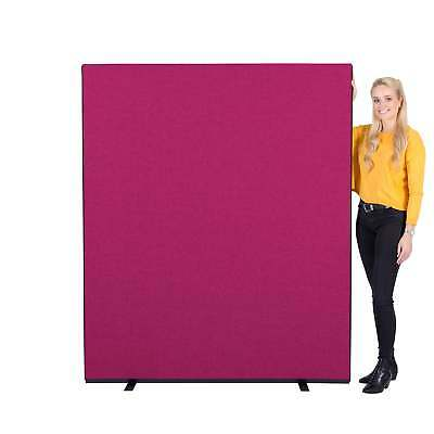 5 Pack Value Office Screens Partition Divider 1500mm W x 1800mm H - 5 Colours