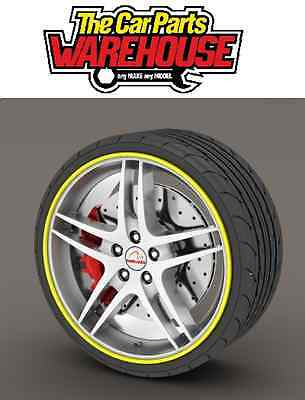 "Rimblades Alloy Rim Protector Or Refurbisher Yellow Upto 22"" Wheels * Ss5130"