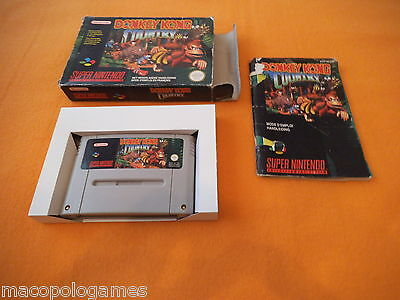 Donkey Kong Country in OVP Super Nintendo SNES