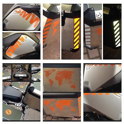 Bmw R1200 Lc 2014 Reflective - World - Tank Bmw+Protection - Panniers Protect