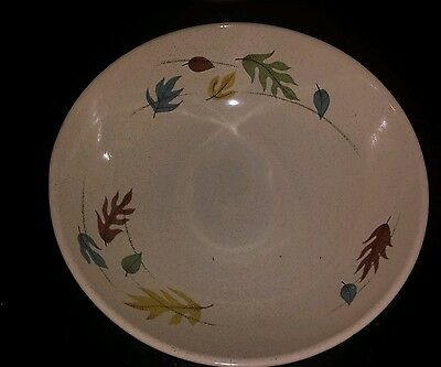 """Franciscan Earthenware Autumn Leaves 9.25"""""""