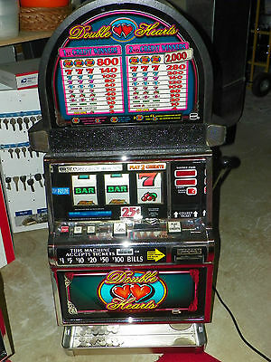IGT S-2000 Double  Hearts Roundtop Slot Machine
