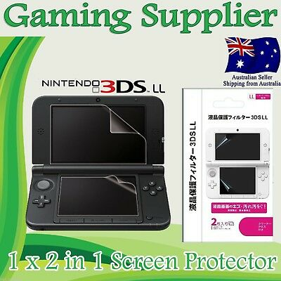 `LCD Screen Guard Protector for Nintendo 3DS XL / LL
