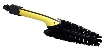 Karcher Wheel Wash Brush Yellow Black Pressure Washer Car Care Cleaning