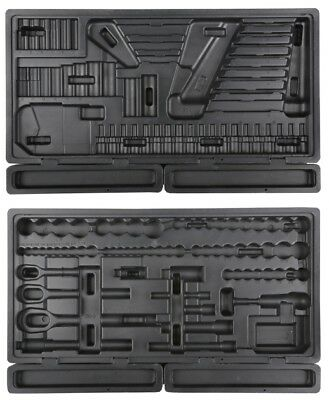 Halfords Advanced Professional Empty 150 Piece Tray Sockets Tool Box Storage