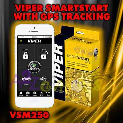 VIPER VSM250 SMART START MODULE iPHONE BLKBRY ANDROID GPS TRACKING DSM250 VSM250